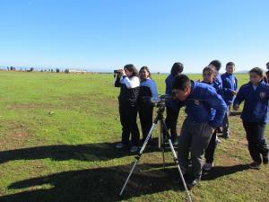 Actividades Educativas con Escolares de Canela Baja