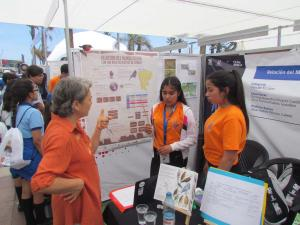 Exposición en Congreso Nacional de Ciencias