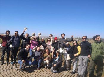 Adultos mayores se comprometen como Vigilantes Ambientales del Humedal río Maipo